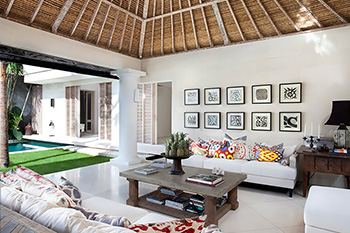 Living Area of VIlla Adasa Bali