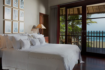 Bedroom of Villa Ambra Bali