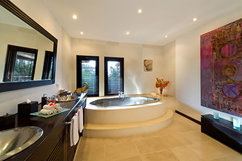 Master Bathroom of Villa Chalina Estate Bali