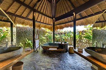 Master Bathroom of Villa Taman Ahimsa Bali
