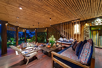 Living Area of Villa Taman Ahimsa Bali