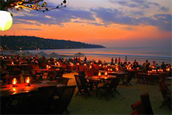 Sunset Dining in Jimbaran Bali