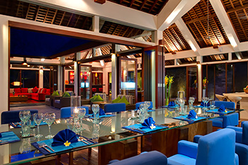 Living and Dining Area of Arsana Estate Bali