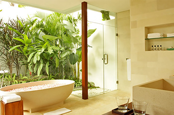 Bathroom at Villa Ambra Bali