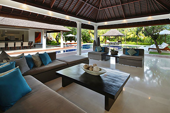 Open Living Area of Villa Asante Bali