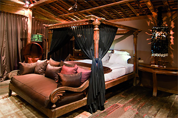 Antique Bedroom at Villa Asli Bali