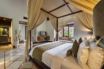 Spacious Bedroom at Villa Asta Bali