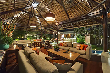 Comfortable Living Area of Villa Asta Bali
