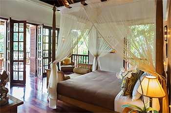 Bedroom at Villa Batavia Bali