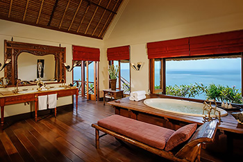 En-suite Bathroom of Villa Bayuh Sabbha Bali