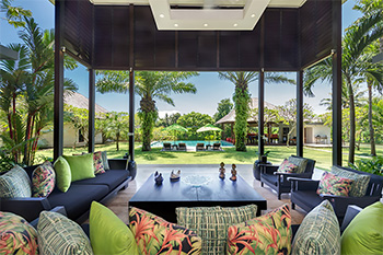 Open Living Area of Villa Bendega Nui Bali
