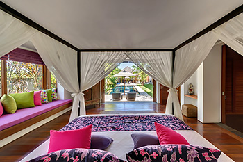 Bedroom at Villa Bendega Rato Bali