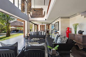 Open Living Area of Villa Bendega Rato Bali