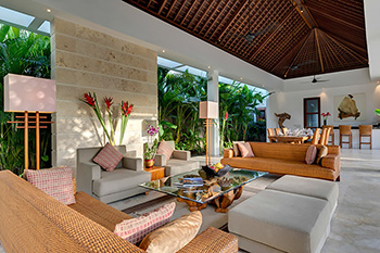Living Area of Villa Casa Brio Bali