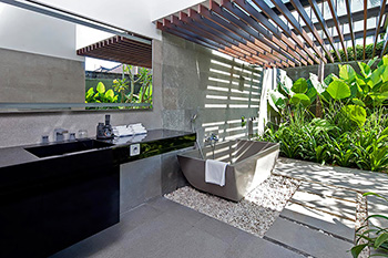 Bathroom of Villa Issi Bali