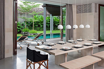 Dining Area of Villa Issi Bali