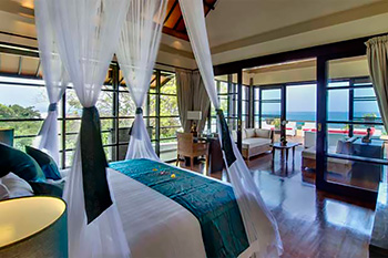 Bedroom of Villa LeGa Bali